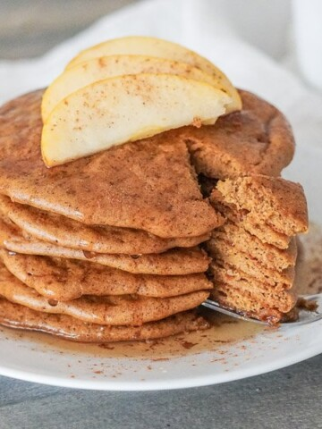 Gluten Free Pumpkin Pancakes 1