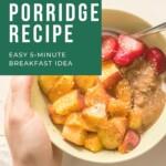 Rice Porridge Recipe Pin 2