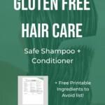 Gluten Free Shampoo and Conditioner Pin 7