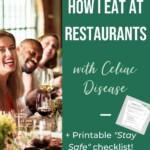 Celiac Friendly Restaurants Pin 2