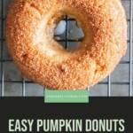 Gluten Free Pumpkin Donuts Pin 8