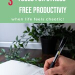Tools for Stress Free Productivity Pin 2