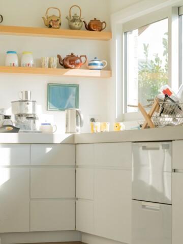 Bright and sunny gluten free kitchen
