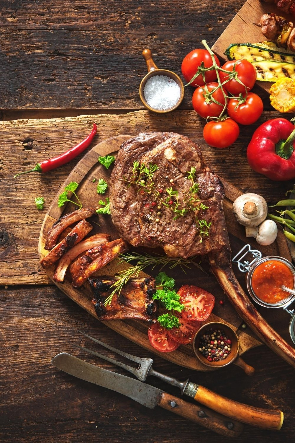 Naturally gluten free home-cooked meat cuts