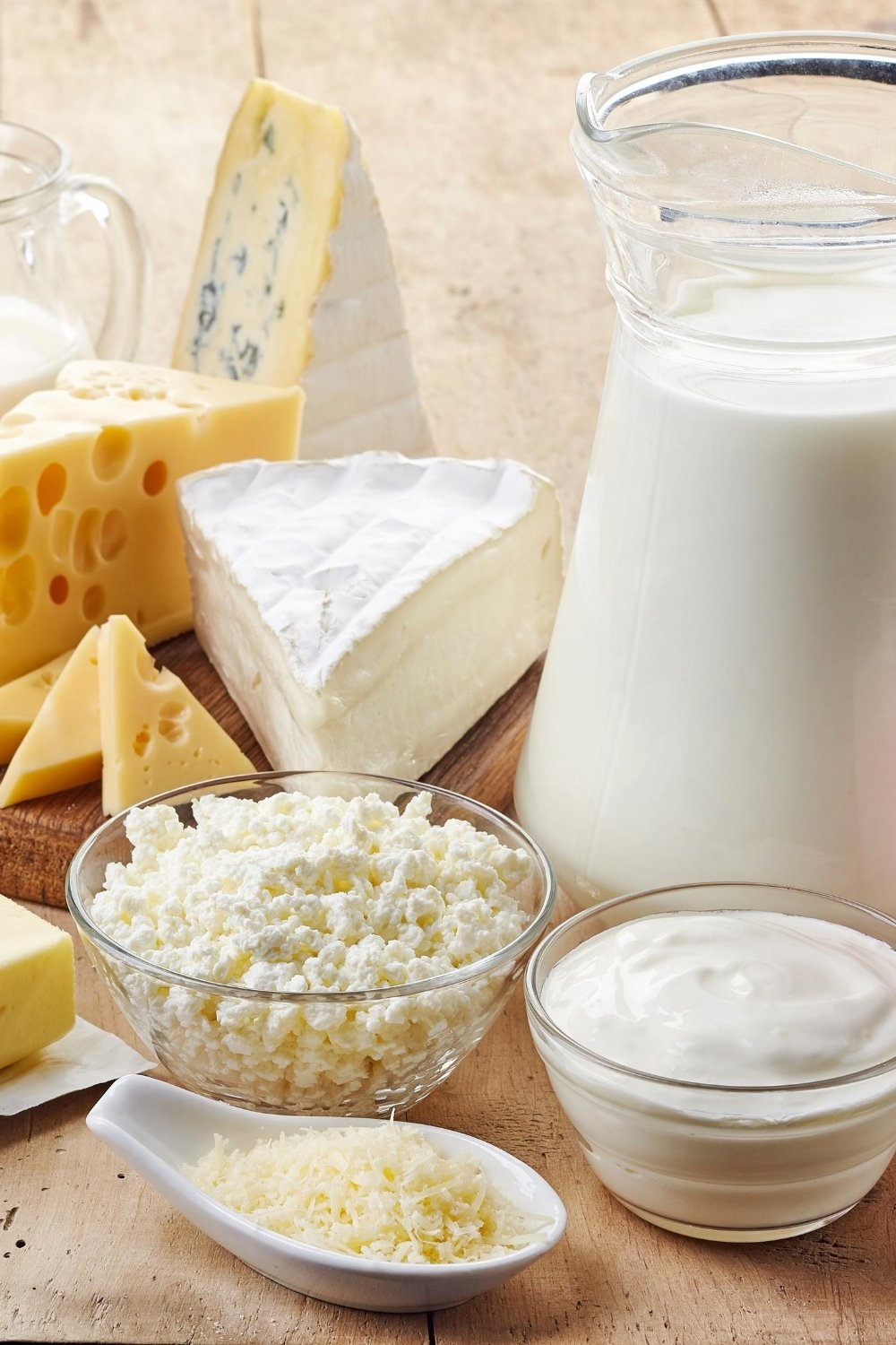 Naturally gluten free dairy products