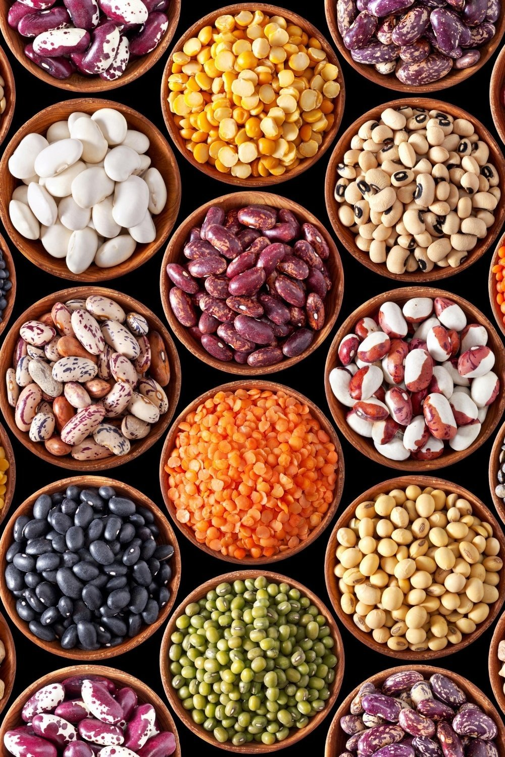 Naturally gluten free beans and legumes