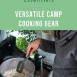 Van Life Kitchen Essentials and camp cooking gear PIN 3