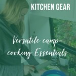 Van Life Kitchen Essentials and camp cooking gear PIN 4