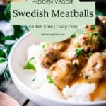 Dairy Free Swedish Meatballs 2